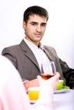 Cafe talk Royalty Free Stock Photos