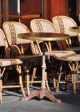 Cafe terrace Stock Photos