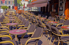 Cafe terrace  Royalty Free Stock Photos