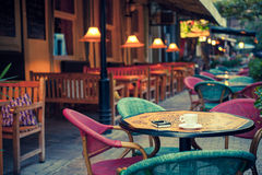 Сafe terrace Royalty Free Stock Photography