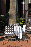 Cafe Terrace Stock Photography