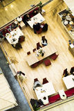 Cafe. top view. Stock Images