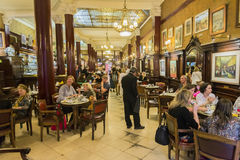 Cafe Tortoni Stock Image