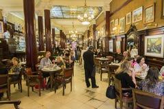 Cafe Tortoni Stock Image