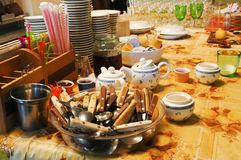 Cafe utensil Stock Image