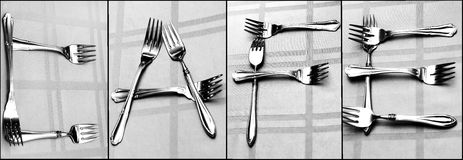 Cafe Utensils Royalty Free Stock Photo