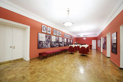 Cafe in Vakhtangov Theatre Royalty Free Stock Photography
