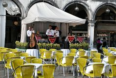 Cafe in Venice Royalty Free Stock Photo