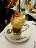 Cafe viennois. In paris, France Stock Image