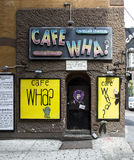 Cafe Wha. Frontage in NYC Royalty Free Stock Images