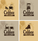 Cafe on wheels Royalty Free Stock Image
