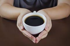 cafehjärtaform Royaltyfria Foton