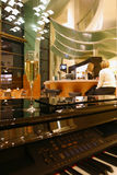 cafeinterior Royaltyfri Bild