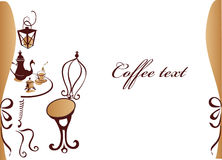 cafekaffe Vektor Illustrationer