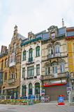 Cafes in Ghent Stock Image