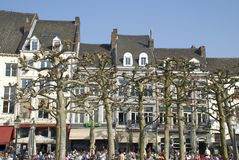 Cafes in Maastricht Stock Images