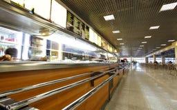 Cafetaria Royalty-vrije Stock Afbeelding
