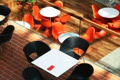 Cafetaria Royalty-vrije Stock Afbeeldingen