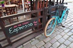 Cafetaria da rua de Varsóvia Fotografia de Stock Royalty Free