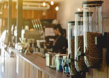 Cafetaria e restaurante do bom dia Fotos de Stock
