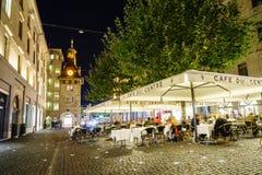 Cafetaria em Genebra, Suíça imagem de stock royalty free