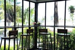 Cafetaria em Tailândia Imagens de Stock