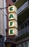 Cafetaria exterior da rua em Alemanha Fotos de Stock