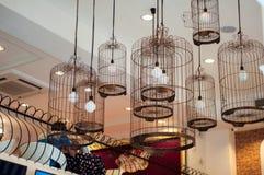 Cafetarias da decoração, estilo do vintage Fotografia de Stock