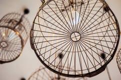 Cafetarias da decoração, estilo do vintage Foto de Stock Royalty Free