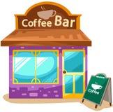 Cafetería stock de ilustración