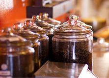 Cafetería Imágenes de archivo libres de regalías