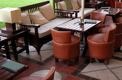 Cafetería Foto de archivo libre de regalías