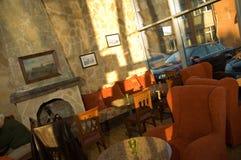 Cafetería acogedora imagenes de archivo