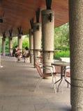 Cafetería al aire libre Imagenes de archivo