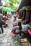 Cafetería al aire libre Fotos de archivo