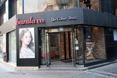 Cafetería de Banila co en Seul, Corea del Sur Fotografía de archivo libre de regalías