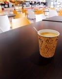 Cafetería de escuela Foto de archivo