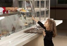 Cafetería de la escuela Foto de archivo libre de regalías