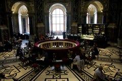 Cafetería del museo de KHM Imágenes de archivo libres de regalías