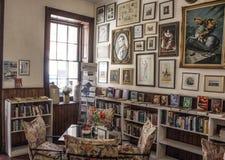 Cafetería dentro del hotel del consulado Foto de archivo libre de regalías