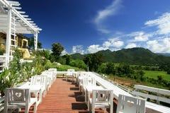 Cafetería en la colina Fotos de archivo libres de regalías