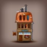 Cafetería. Formato del vector Imagen de archivo libre de regalías