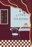 Cafeteria Arkivfoto