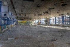 Cafeteria abandoned Stock Photography
