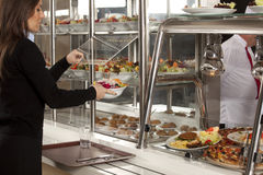 Cafeteria Stock Image