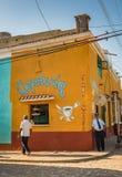 Cafeteria / Coffeeshop - Trinidad, Cuba stock image