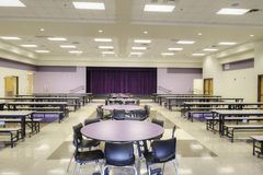 Cafeteria at Elementary School Royalty Free Stock Images