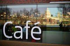 Cafeteria exterior, London, UK Royalty Free Stock Photo