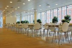 Cafeteria interior Stock Image