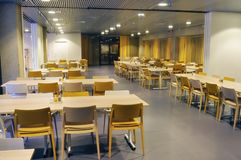 Cafeteria interior Stock Photography